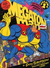 Couverture de l'album MEGATON MAN Tome #1 Volume 1