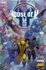 Couverture de l'album HOUSE OF M Tome #2 House of M (2/4)