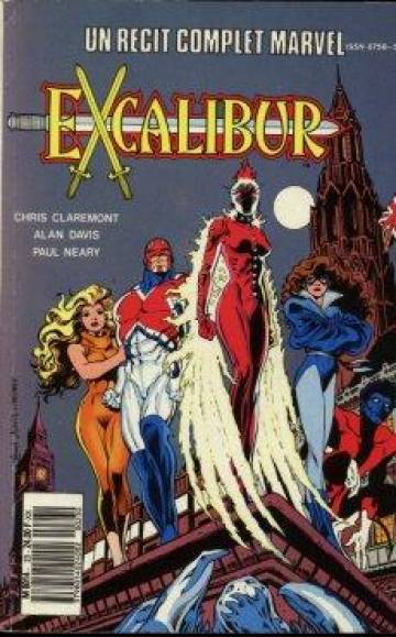 Couverture de l'album RECIT COMPLET MARVEL Tome #23 Excalibur