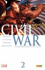 Couverture de l'album CIVIL WAR Tome #2 Un événement Marvel en sept volets