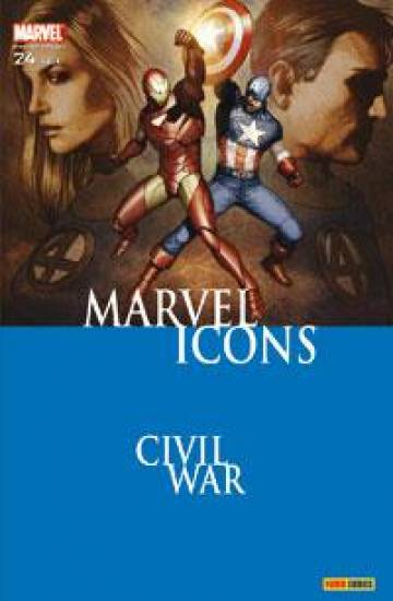 Couverture de l'album MARVEL ICONS Tome #24 Emeutes