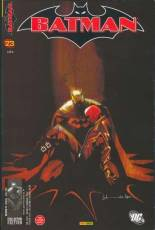Couverture de l'album BATMAN Tome #23 Course contre la mort