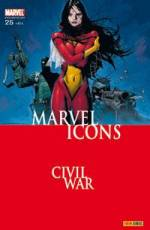 Couverture de l'album MARVEL ICONS Tome #25 La séparation