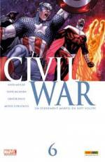 Couverture de l'album CIVIL WAR Tome #6 Un événement Marvel en sept volets