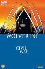 Couverture de l'album WOLVERINE Tome #163 Civil War