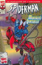 Couverture de l'album SPIDER-MAN Tome #4 Mortalité Virtuelle