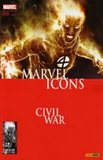 Couverture de l'album MARVEL ICONS Tome #29 Crimes de guerres