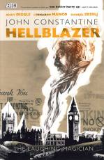 Couverture de l'album JOHN CONSTANTINE : HELLBLAZER (VO) Tome #28 The laughing magician