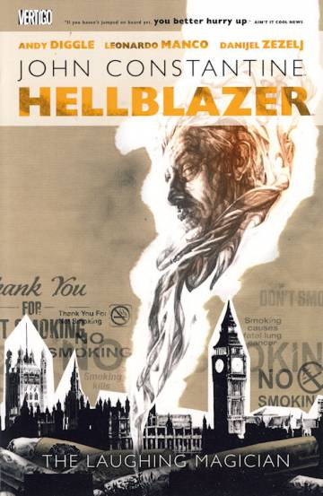 Couverture de l'album VO JOHN CONSTANTINE : HELLBLAZER Tome #28 The laughing magician