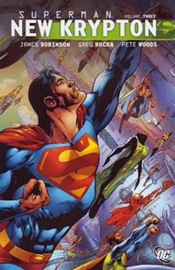 Couverture de l'album SUPERMAN : NEW KRYPTON Tome #3 Volume 3