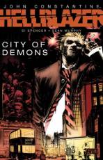 Couverture de l'album JOHN CONSTANTINE : HELLBLAZER (VO) City of demons
