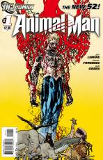 Couverture de l'album ANIMAL MAN Tome #1 The hunt