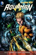 Couverture de l'album AQUAMAN (THE NEW 52) Tome #1 The trench