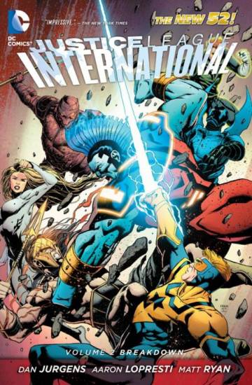 Couverture de l'album JUSTICE LEAGUE INTERNATIONAL Tome #2 Breakdown