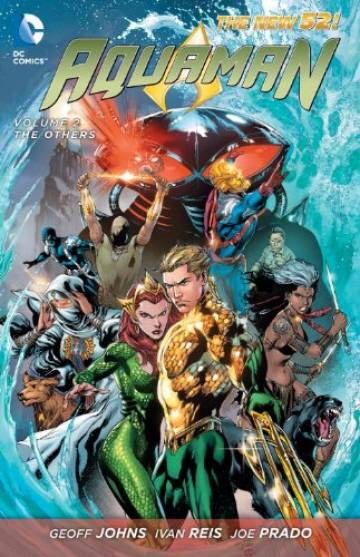 Couverture de l'album AQUAMAN (THE NEW 52) Tome #2 The others