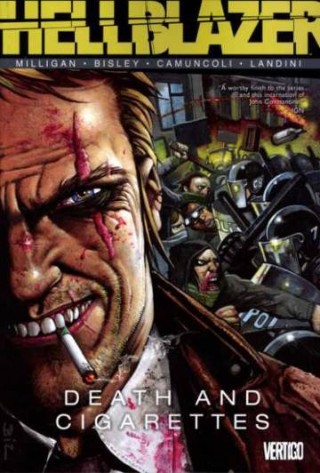 Couverture de l'album VO JOHN CONSTANTINE : HELLBLAZER Tome #34 Death and Cigarettes