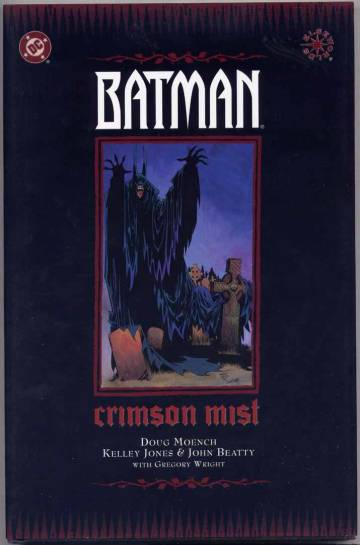 Couverture de l'album BATMAN Tome #  Crimson Mist