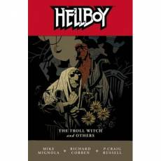 Couverture de l'album HELLBOY Tome #07 The Troll Witch and others