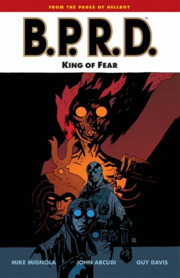Couverture de l'album B.P.R.D. Tome #14 King of Fear