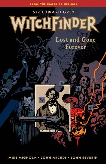 Couverture de l'album WITCHFINDER Tome #2 Lost and Gone Forever