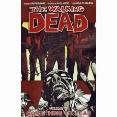 Couverture de l'album THE WALKING DEAD (VO) Tome #17 Something to fear