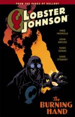 Couverture de l'album LOBSTER JOHNSON Tome #2 The Burning Hand
