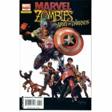 Couverture de l'album MARVEL ZOMBIES VS THE ARMY OF DARKNESS Tome #4 The book of Dooms