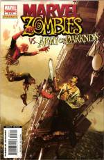 Couverture de l'album MARVEL ZOMBIES VS THE ARMY OF DARKNESS Tome #3 Night of the livid dead