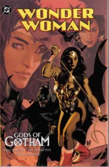 Couverture de l'album WONDER WOMAN Gods of Gotham