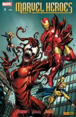 Couverture de l'album MARVEL HEROES Tome #11 Triple Menace