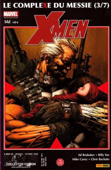 Couverture de l'album X-MEN Tome #141 3/7 Le complexe du Messie