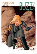 Couverture de l'album BUZZ COMICS ARTBOOK Tome #1 2008