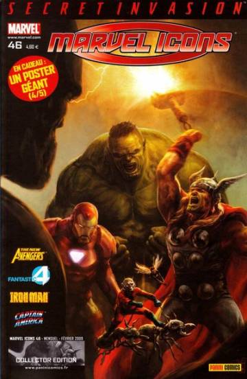 Couverture de l'album MARVEL ICONS Tome #46 Mise au point