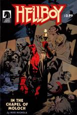 Couverture de l'album HELLBOY In the chapel of Moloch