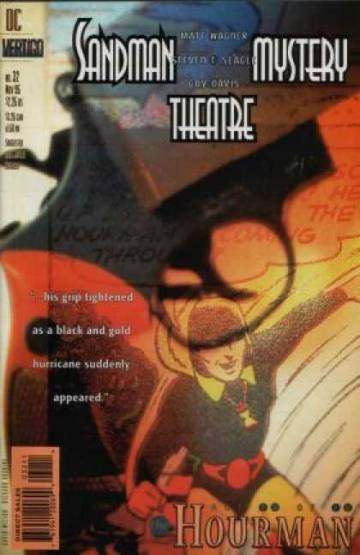 Couverture de l'album SANDMAN MYSTERY THEATRE Tome #32 The Hourman - Act IV of IV