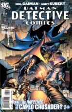 Couverture de l'album DETECTIVE COMICS Tome #853 Whatever happened to the caped crusader ? 2 of 2