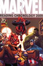 Couverture de l'album MARVEL READING CHRONOLOGY 2009