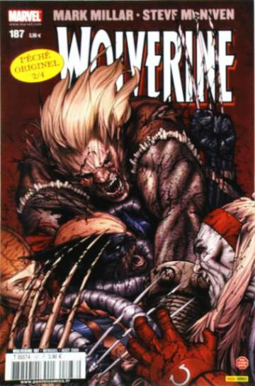 Couverture de l'album WOLVERINE Tome #187 5/8 Old Man Logan