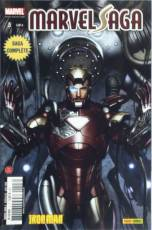 Couverture de l'album MARVEL SAGA Tome #3 Iron Man - De mains de fer