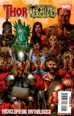 Couverture de l'album THOR & HERCULES: ENCYCLOPAEDIA MYTHOLOGICA Encyclopaedia Mythologica