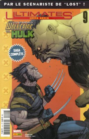 Couverture de l'album ULTIMATE HORS-SERIE Tome #9 Ultimate Wolverine vs Hulk