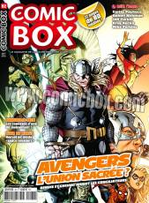 Couverture de l'album COMIC BOX Tome #62 Avengers : L'union sacrée?