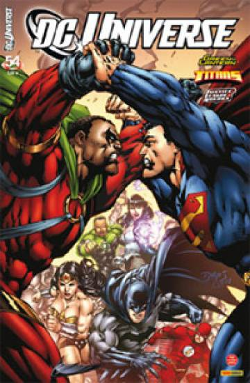 Couverture de l'album DC UNIVERSE Tome #54 Sans issue
