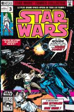Couverture de l'album STAR WARS  COMICS COLLECTOR Tome #3 Sur les lunes de Yavin
