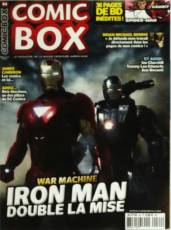 Couverture de l'album COMIC BOX Tome #64 War Machine : Iron Man double la mise