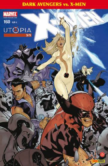 Couverture de l'album X-MEN Tome #160 3/5 Utopia