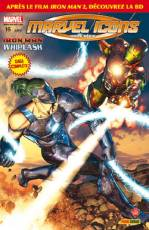 Couverture de l'album MARVEL ICONS HORS SERIE Tome #16 Iron Man vs. Whiplash