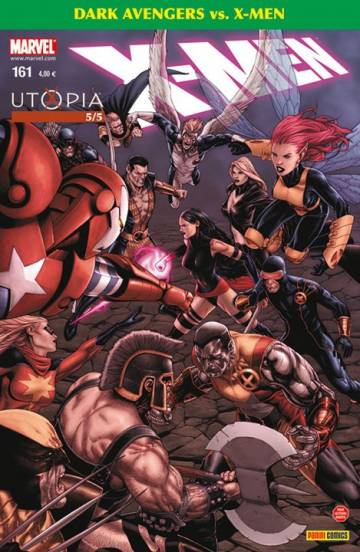 Couverture de l'album X-MEN Tome #161 5/5 Utopia