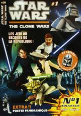 Couverture de l'album STAR WARS  : THE CLONE WARS Tome #1 Les jedis au secours de la République