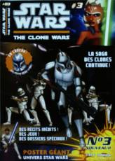 Couverture de l'album STAR WARS  : THE CLONE WARS Tome #3 La saga des clones continue !